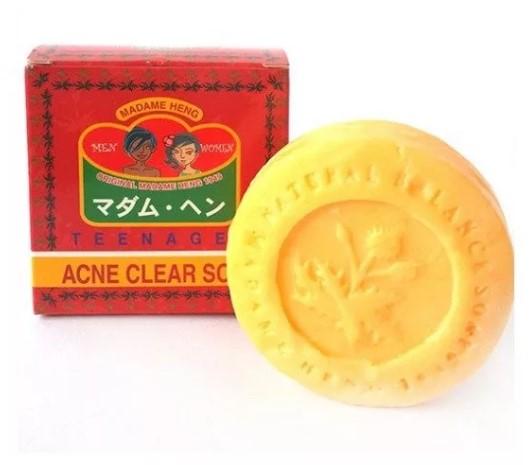 Мыло от Акне для проблемной кожи лица Madame Heng Acne clear soap, 150 гр купить по цене 280р